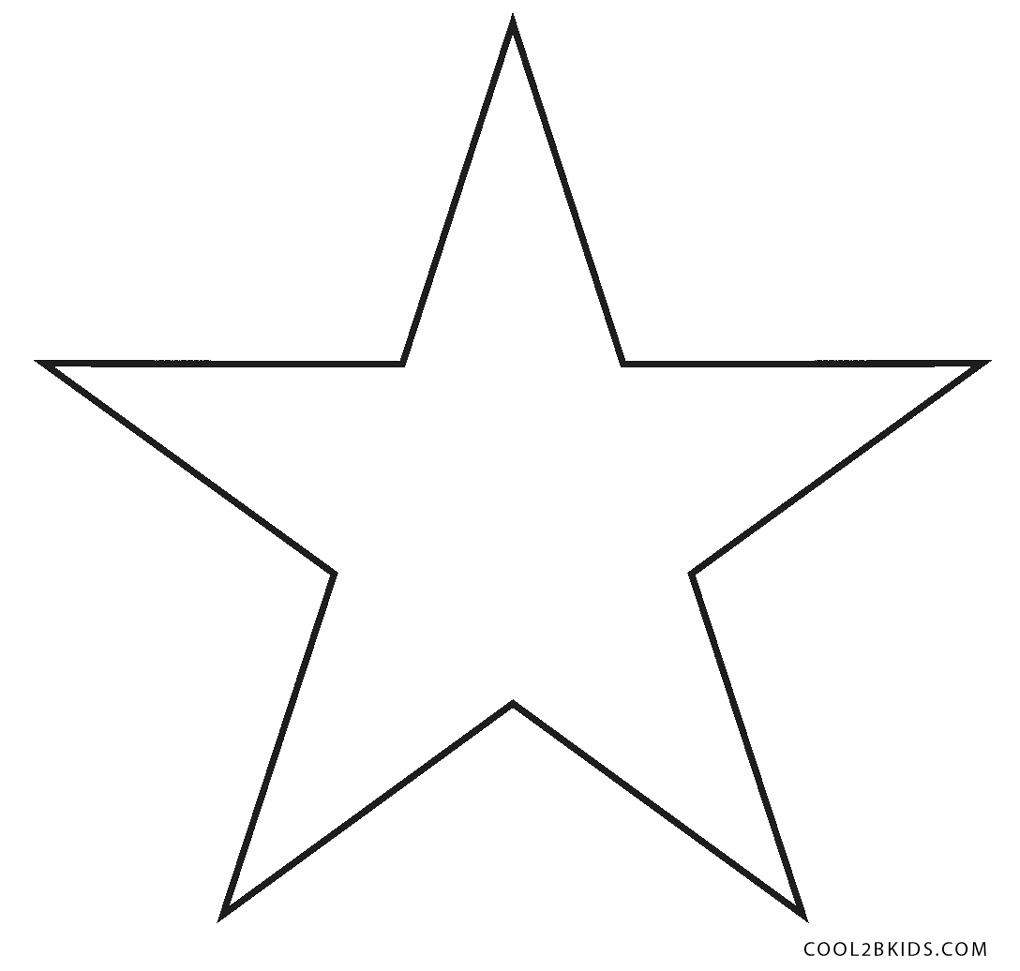 star picture to color christmas star coloring pages at santalettercom picture to star color