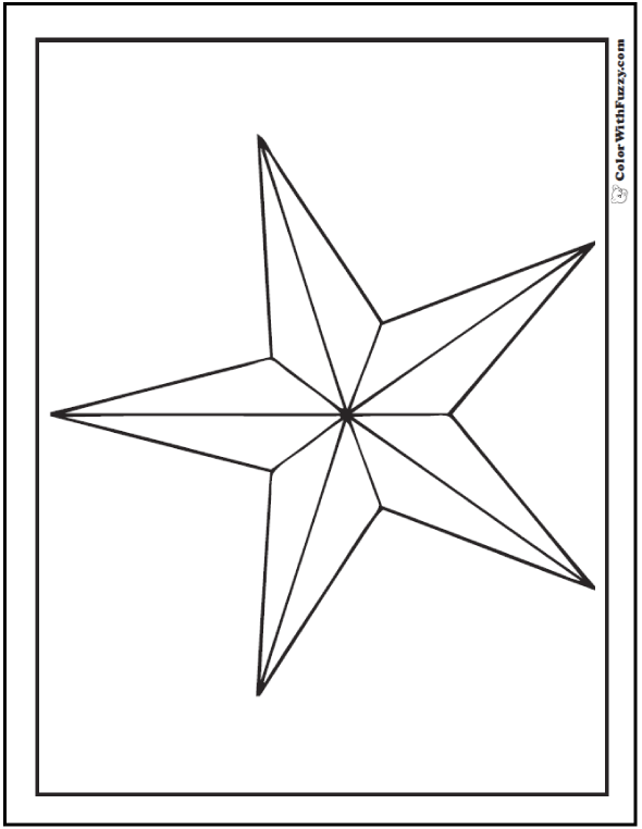star picture to color free printable star coloring pages for kids picture to star color