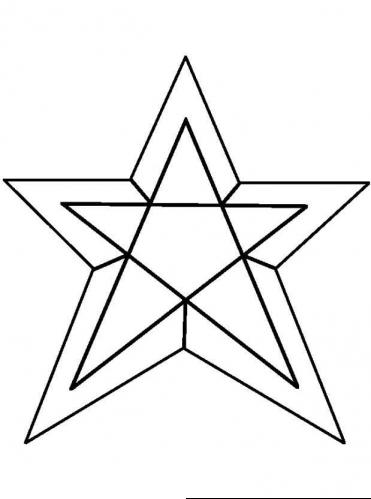 star picture to color shapes to color coloring pages to picture star color