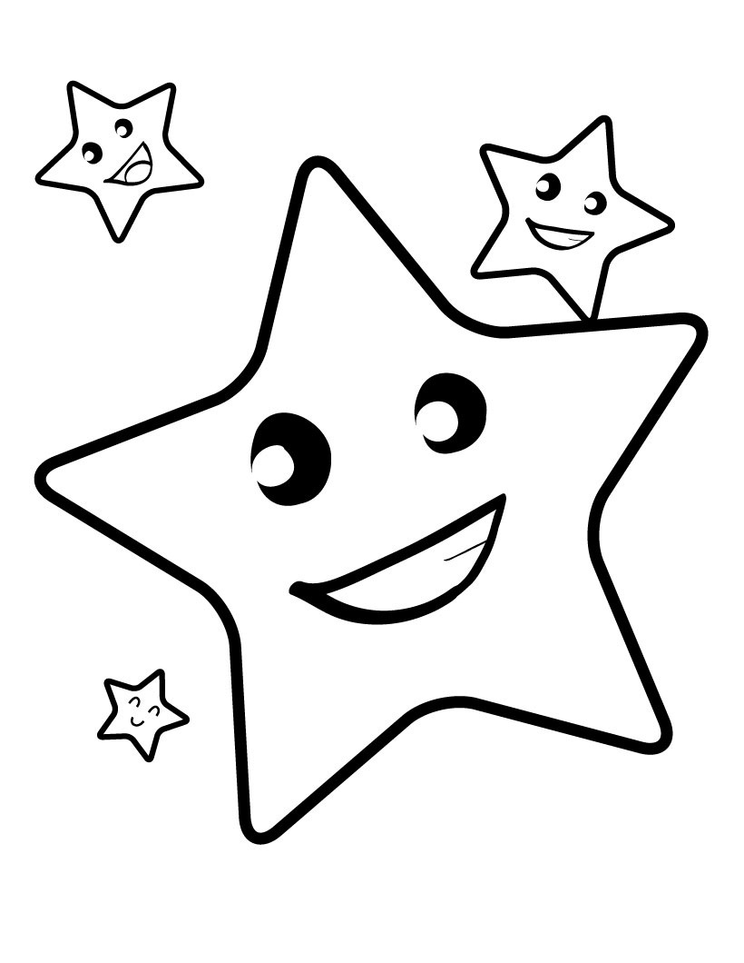 star picture to color star coloring pages getcoloringpagescom color to star picture