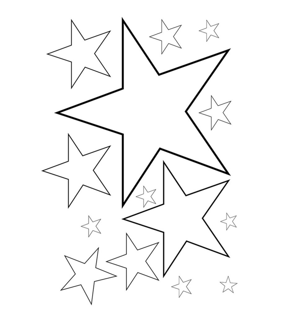 stars coloring pages shooting star outline free download best shooting star pages stars coloring