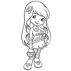 strawberry shortcake characters coloring pages cute strawberry shortcake coloring page free strawberry characters coloring shortcake pages strawberry