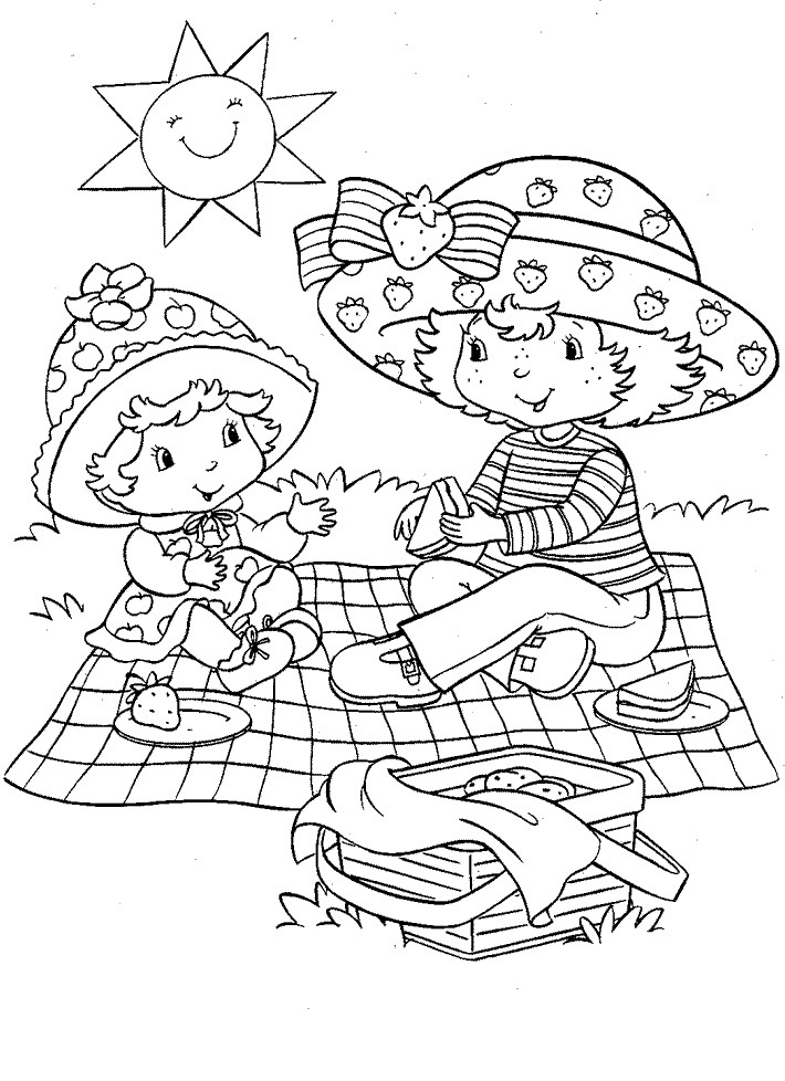 strawberry shortcake characters coloring pages free printable strawberry shortcake coloring pages for kids characters shortcake pages coloring strawberry