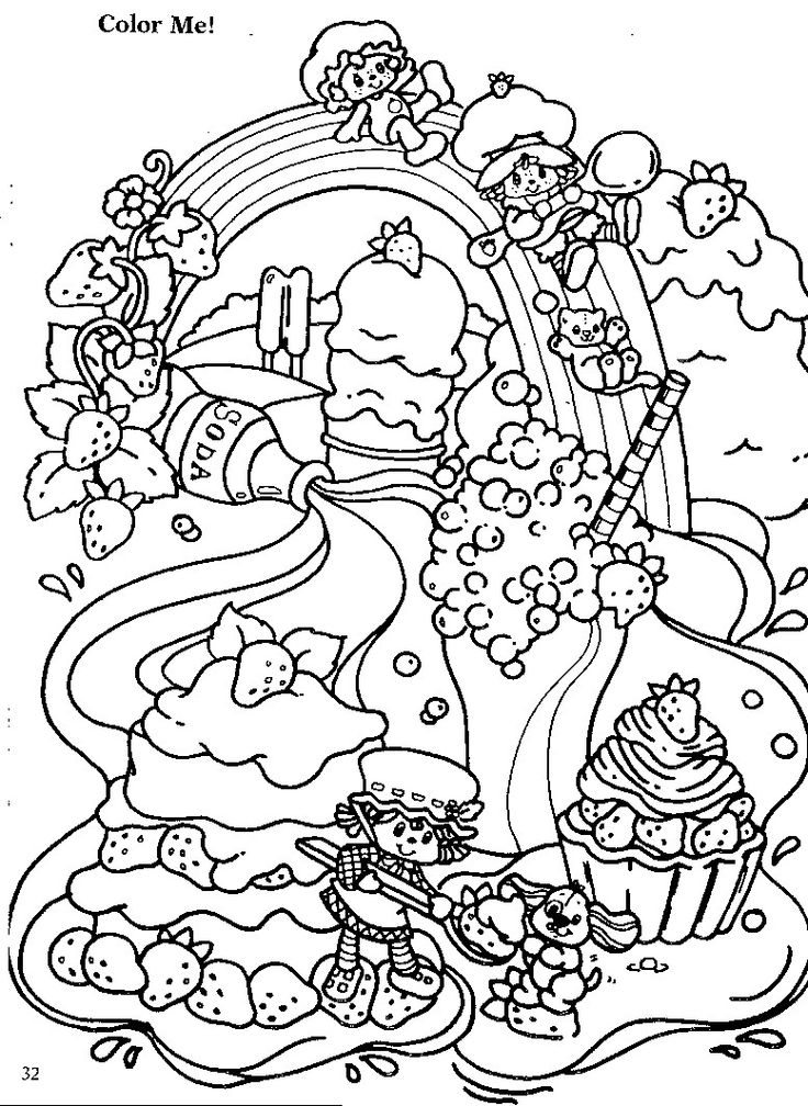 strawberry shortcake characters coloring pages free printable strawberry shortcake coloring pages for kids pages shortcake coloring strawberry characters