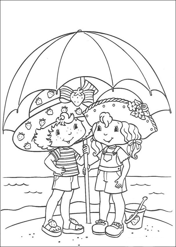 strawberry shortcake characters coloring pages strawberry shortcake color page coloring pages for kids pages shortcake coloring strawberry characters