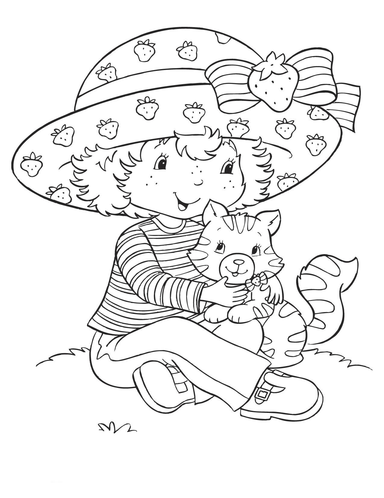 strawberry shortcake characters coloring pages strawberry shortcake coloring pages getcoloringpagescom strawberry shortcake characters coloring pages
