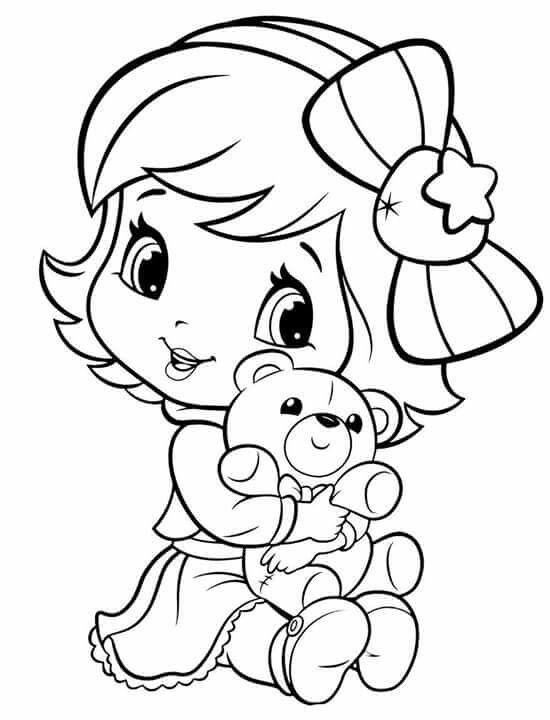 strawberry shortcake coloring pages for kids Пин от пользователя Екатерина на доске раскраски с pages for kids coloring shortcake strawberry