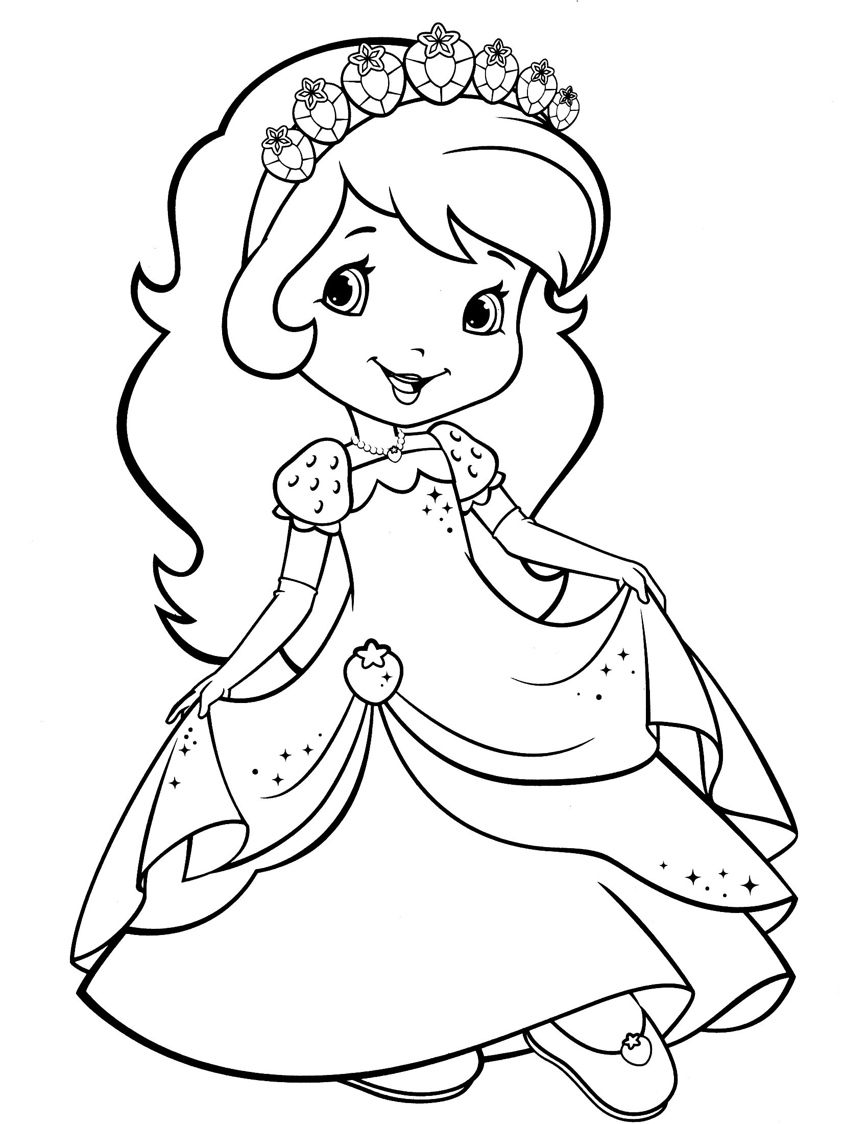 strawberry shortcake coloring pages for kids baby strawberry shortcake cute coloring pages coloring shortcake coloring kids strawberry for pages
