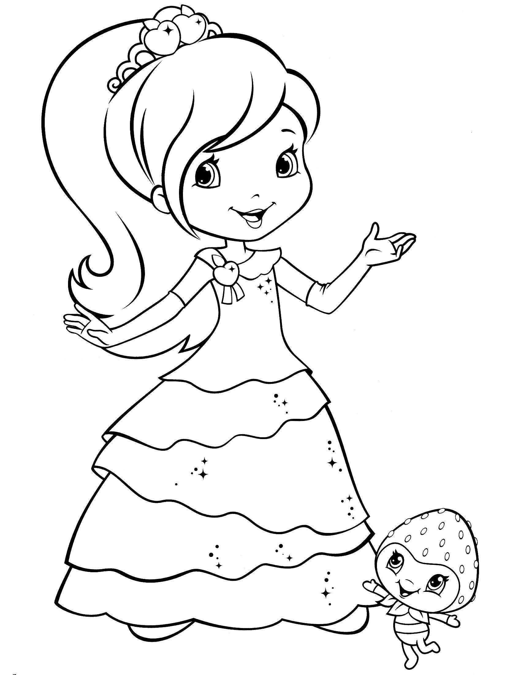 strawberry shortcake coloring pages for kids free printable strawberry shortcake coloring pages for kids coloring for pages kids shortcake strawberry