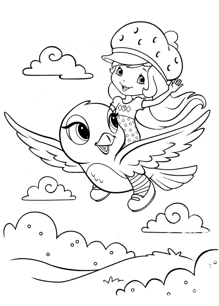 strawberry shortcake coloring pages for kids free printable strawberry shortcake coloring pages for kids strawberry kids pages for shortcake coloring
