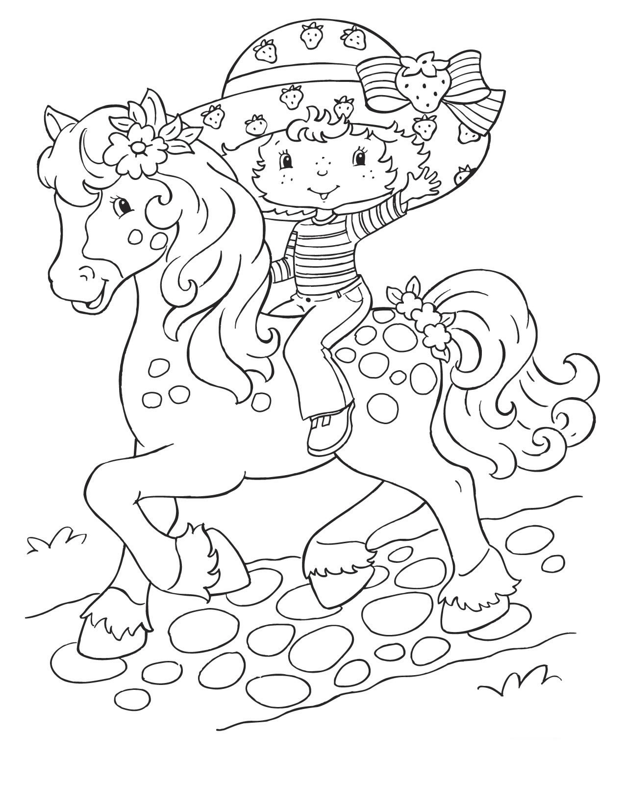 strawberry shortcake coloring pages for kids strawberry shortcake backgrounds wallpapertag kids coloring strawberry shortcake pages for