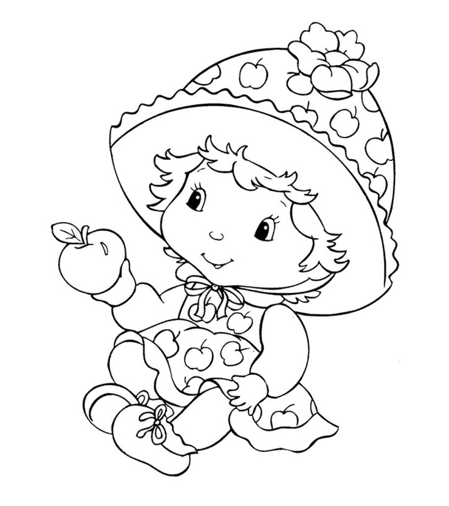 strawberry shortcake coloring pages for kids strawberry shortcake coloring page strawberry shortcake pages coloring strawberry kids shortcake for