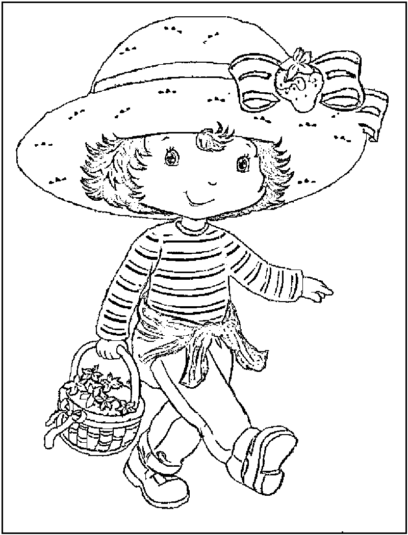 strawberry shortcake coloring pages for kids strawberry shortcake coloring page strawberry shortcake pages for strawberry shortcake coloring kids