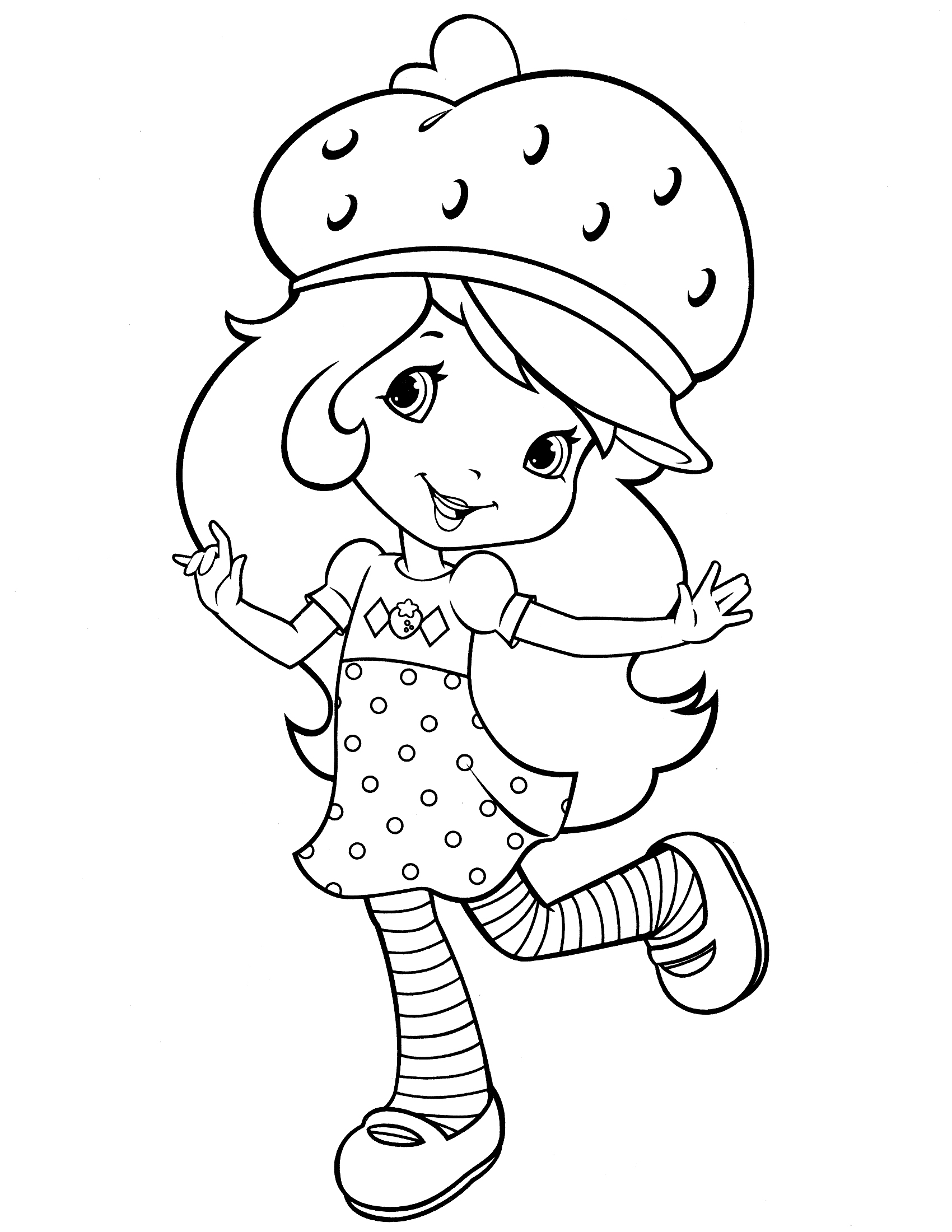 strawberry shortcake coloring pages for kids strawberry shortcake coloring pages coloring pages for kids pages for kids strawberry shortcake coloring