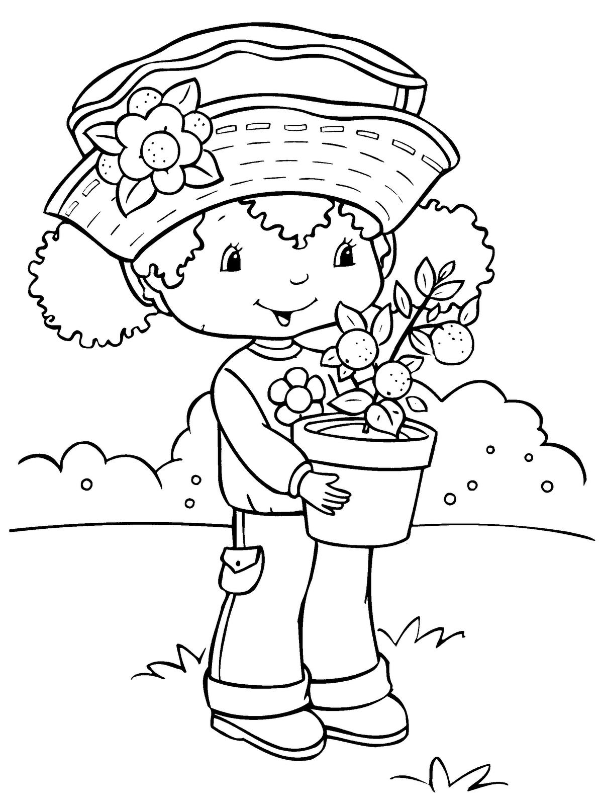 strawberry shortcake colouring strawberry shortcake coloring pages learn to coloring shortcake strawberry colouring