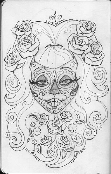 sugar skull coloring pages printable leigh young illustration sugar skulls printable coloring skull sugar pages