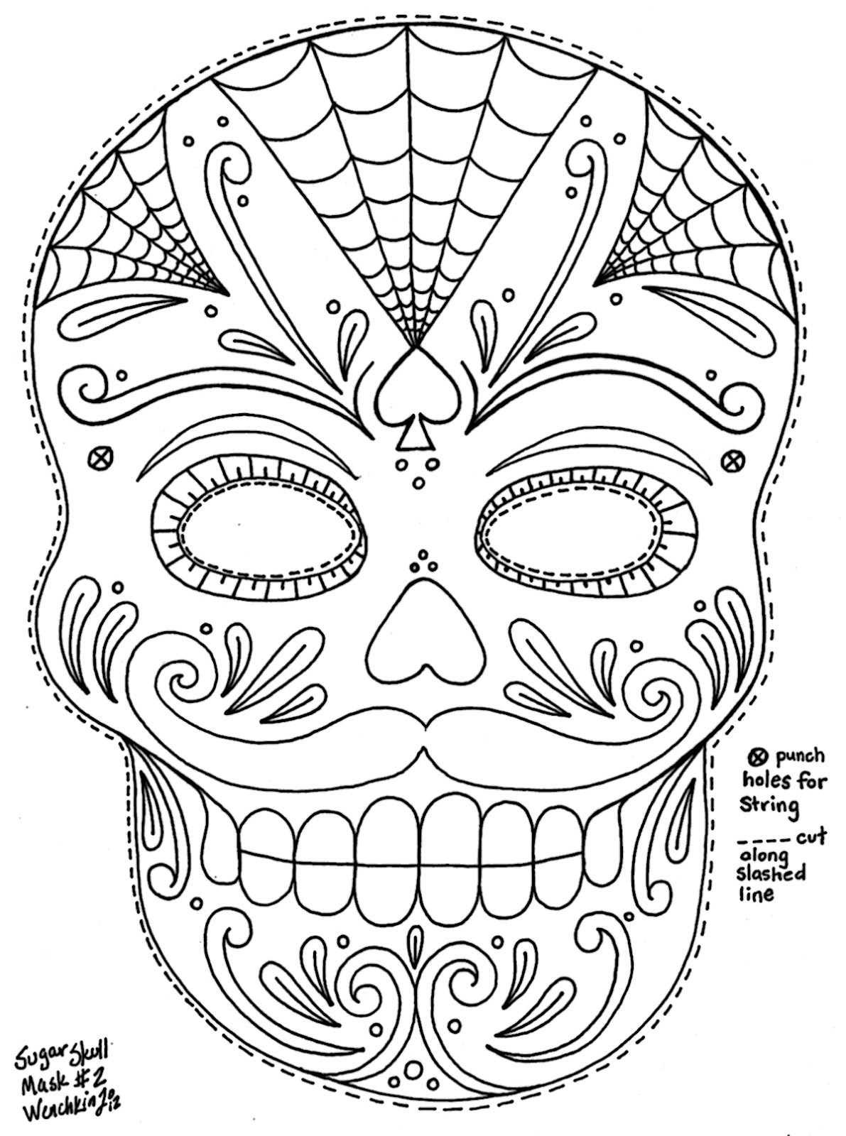 sugar skull coloring pages printable mosaic sugar skull coloring coloring pages printable pages skull coloring sugar
