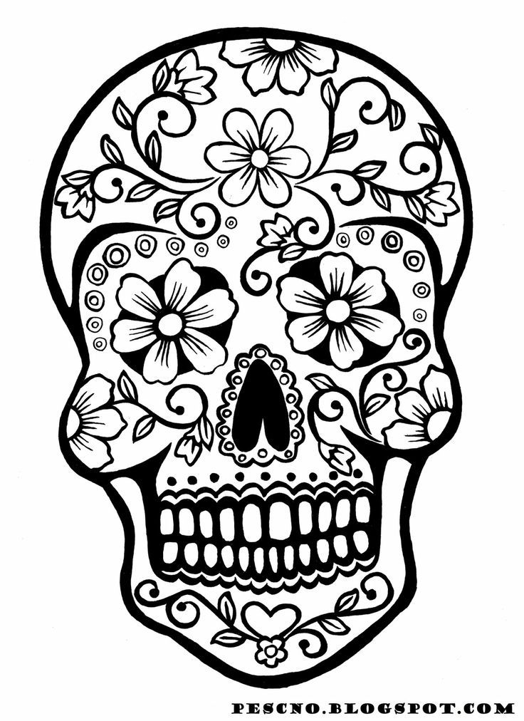 sugar skull coloring pages printable sugar skull owl coloring page free printable coloring pages coloring skull pages printable sugar