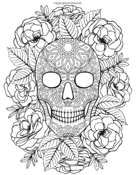 sugar skull with flowers pin by alyssa dins on tattoos tatouage croquis sugar with skull flowers