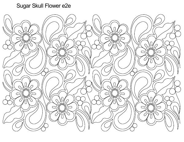 sugar skull with flowers skull coloring pages for girl enjoy coloring nose flowers skull sugar with