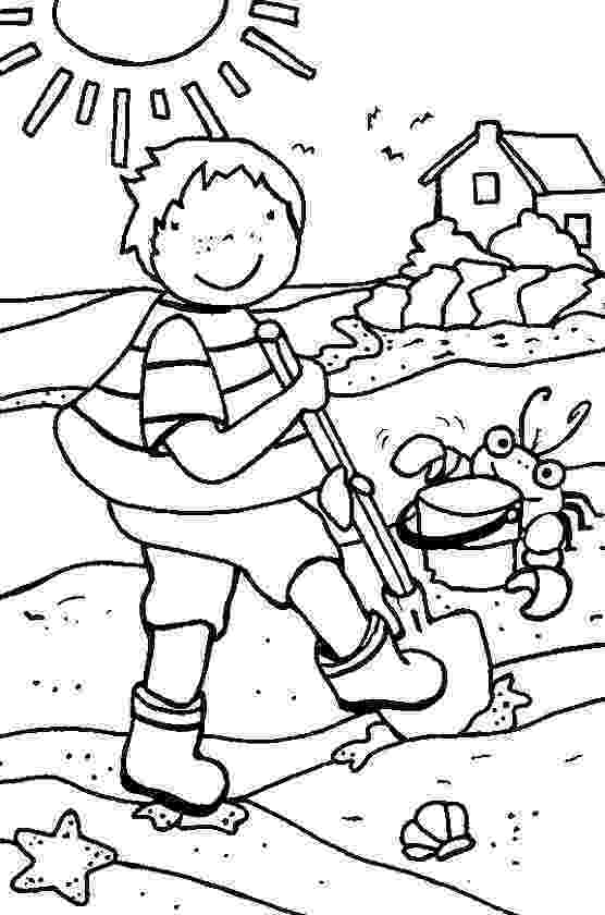 summer coloring page free printable summer coloring page ausdruckbare summer coloring page