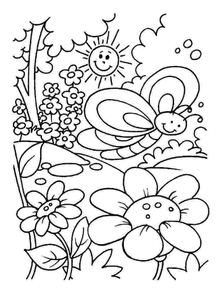 summer coloring page summer coloring pages for kids coloring pages for kids summer coloring page