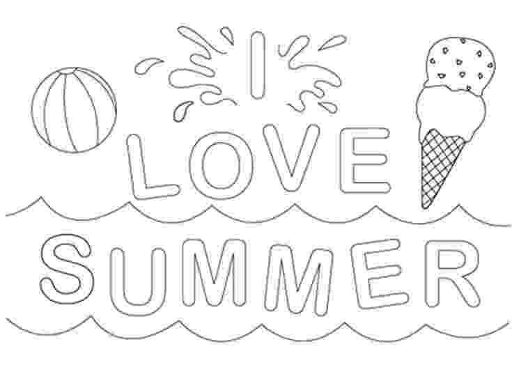 summer coloring page summer coloring pages for kids print them all for free summer coloring page