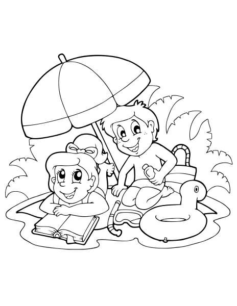 summertime coloring pages 36 free printable summer coloring pages summertime pages coloring