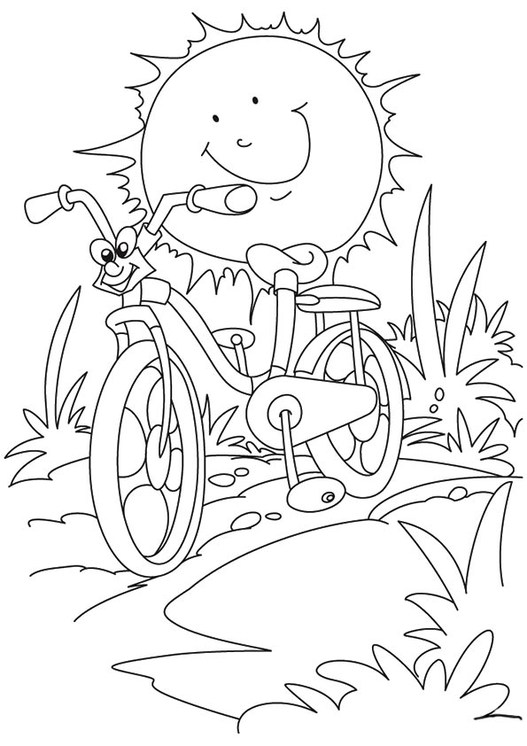 summertime coloring pages summer coloring pages 360coloringpages summertime pages coloring