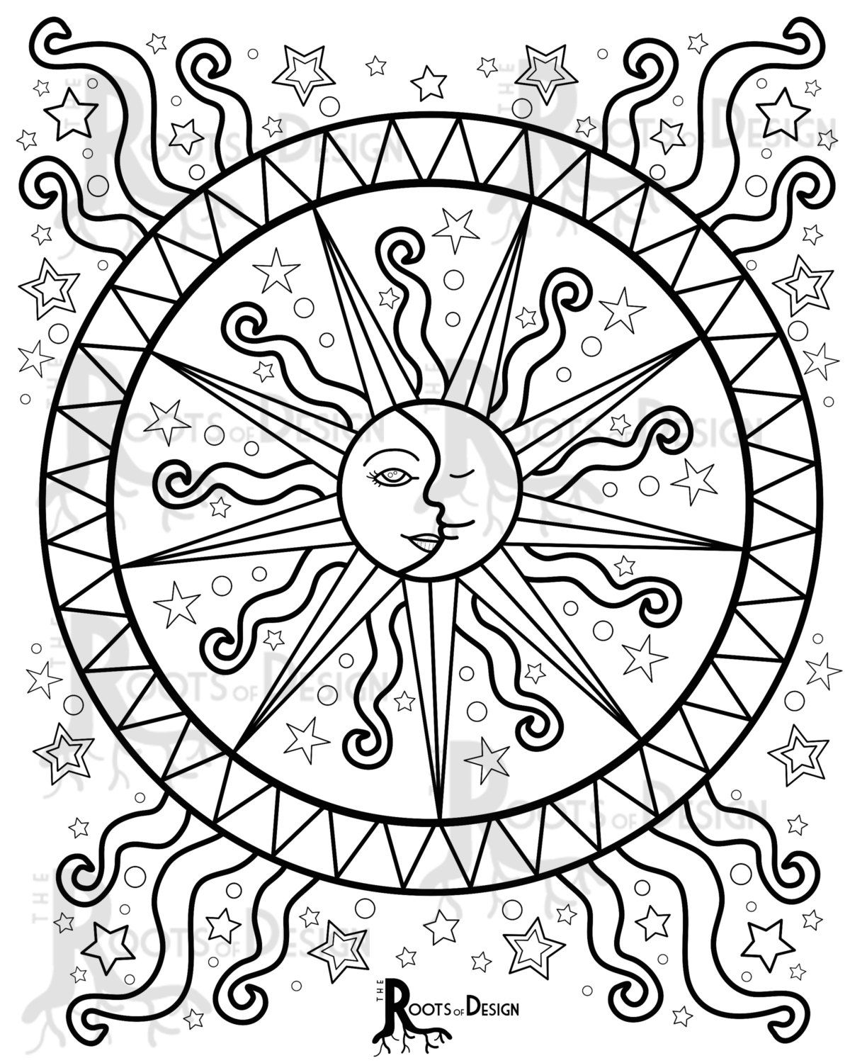 sun mandala coloring pages 5364 best coloring pages drawings images on pinterest coloring sun pages mandala