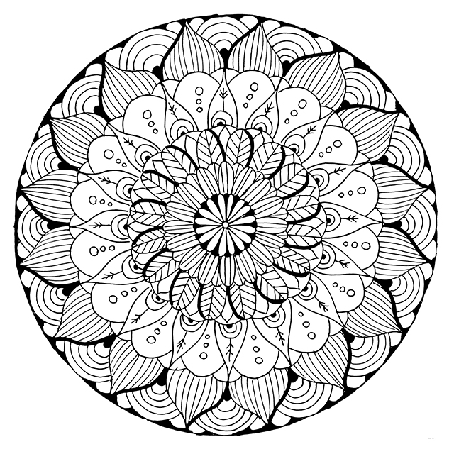 sun mandala coloring pages free mandala pattern to color pages coloring sun mandala