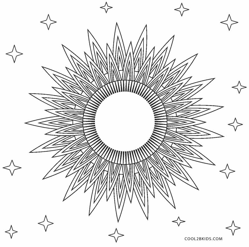 sun mandala coloring pages instant download coloring page celestial mandala design mandala sun pages coloring