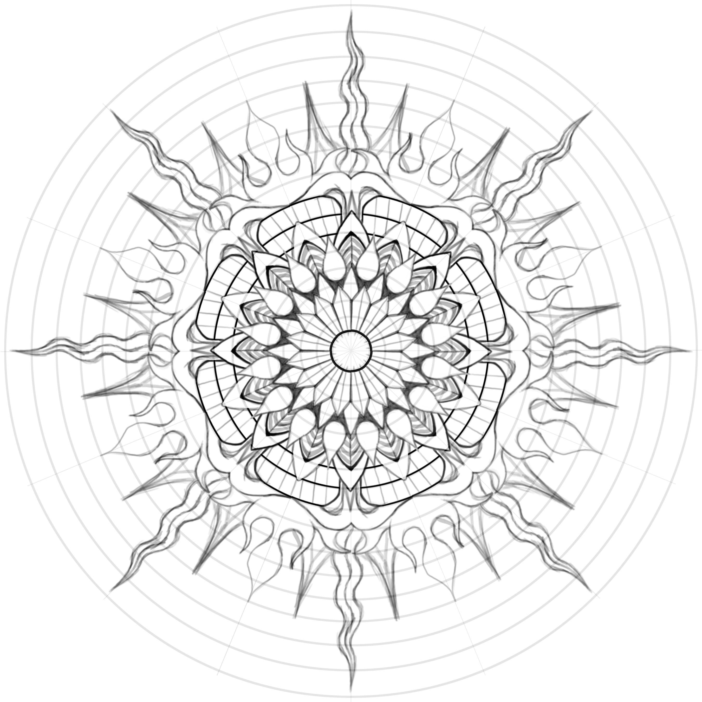 sun mandala coloring pages mandalas my wonky life pages mandala sun coloring