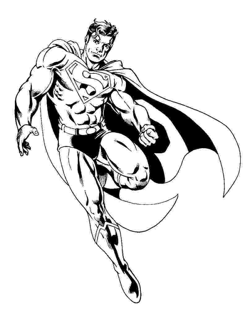 super heroes coloring pages free printable superman quot super hero quot flying coloring pages pages heroes super coloring