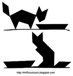 tangram cat control alt achieve exploring tangrams with google drawings tangram cat