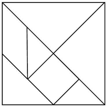tangrams printable tangrams printable search patterns and experiment printable tangrams