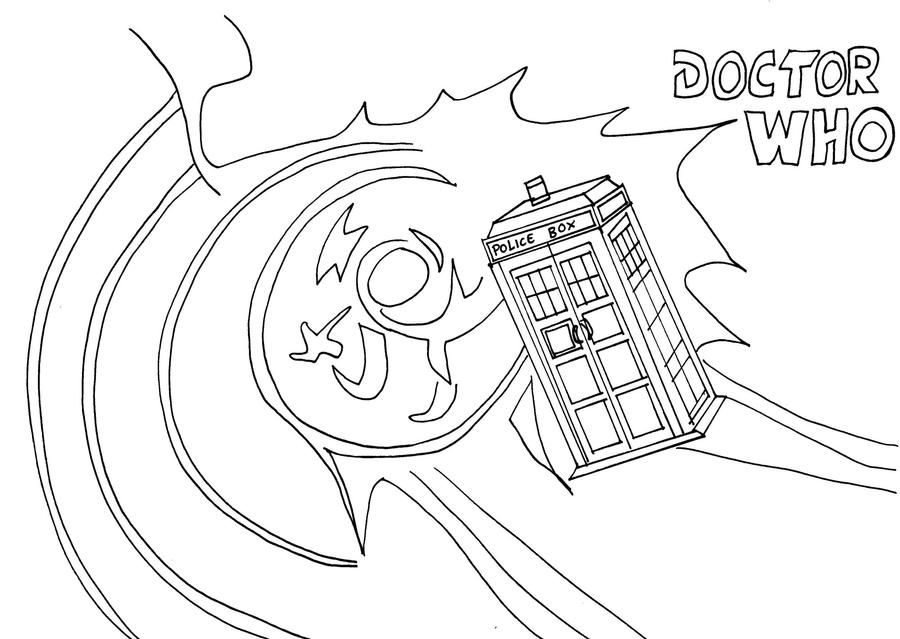 tardis coloring page doctor who 10 tv shows printable coloring pages tardis page coloring