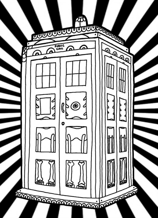 tardis coloring page doctor who coloring pages free coloring pages tardis page coloring