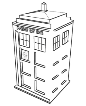 tardis coloring page doctor who favourites by morpheus cf on deviantart coloring tardis page