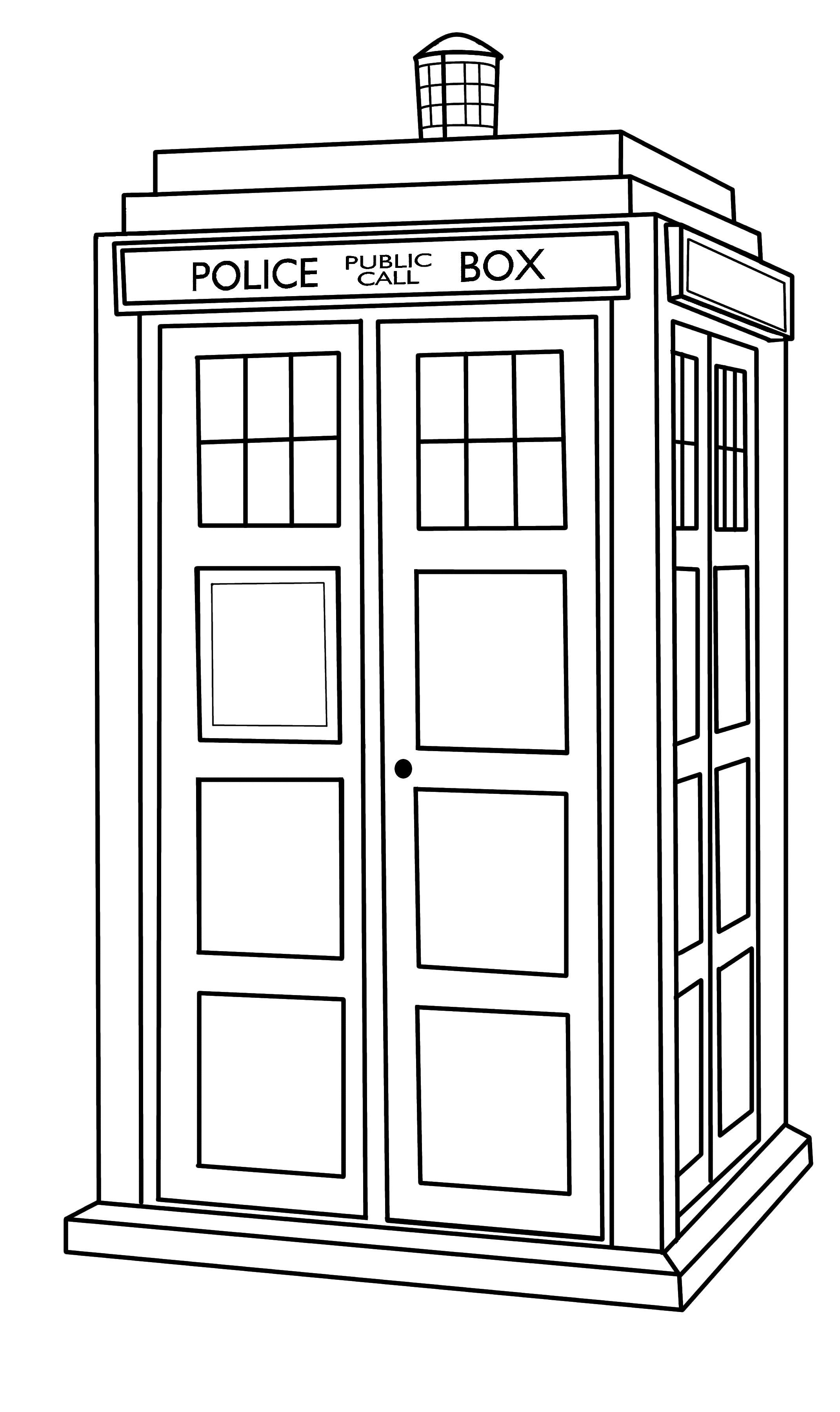 tardis coloring page doctor who wibbly wobbly timey wimey coloring pages printables fun blog page coloring tardis