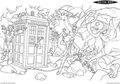 tardis coloring page tv shows coloring pages for adults page tardis coloring
