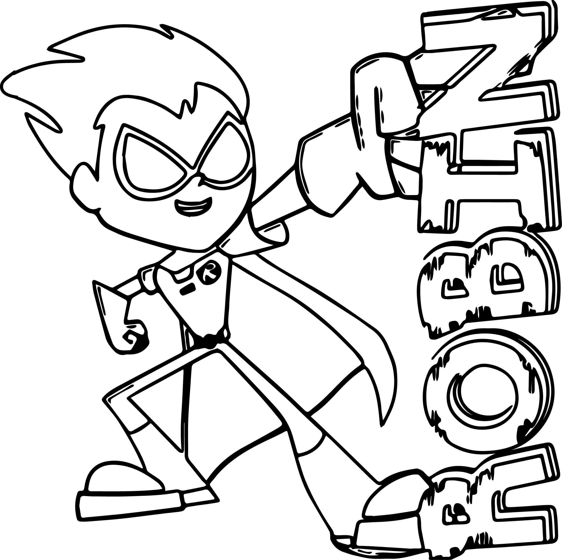 teen titans coloring pages teen titans coloring pages best coloring pages for kids pages coloring titans teen