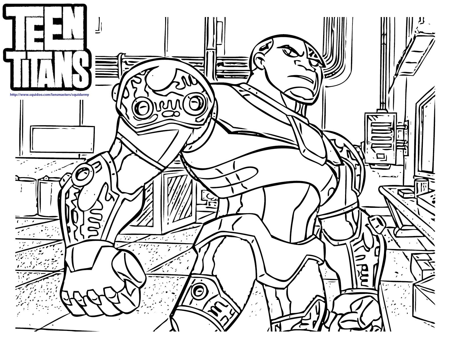 teen titans coloring pages teen titans go coloring pages squid army titans pages teen coloring