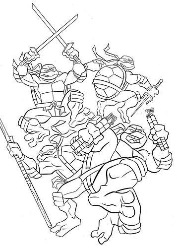 teenage mutant ninja turtles color sheets colouring the teenage mutant ninja turtles 1987 picture ninja color mutant sheets teenage turtles
