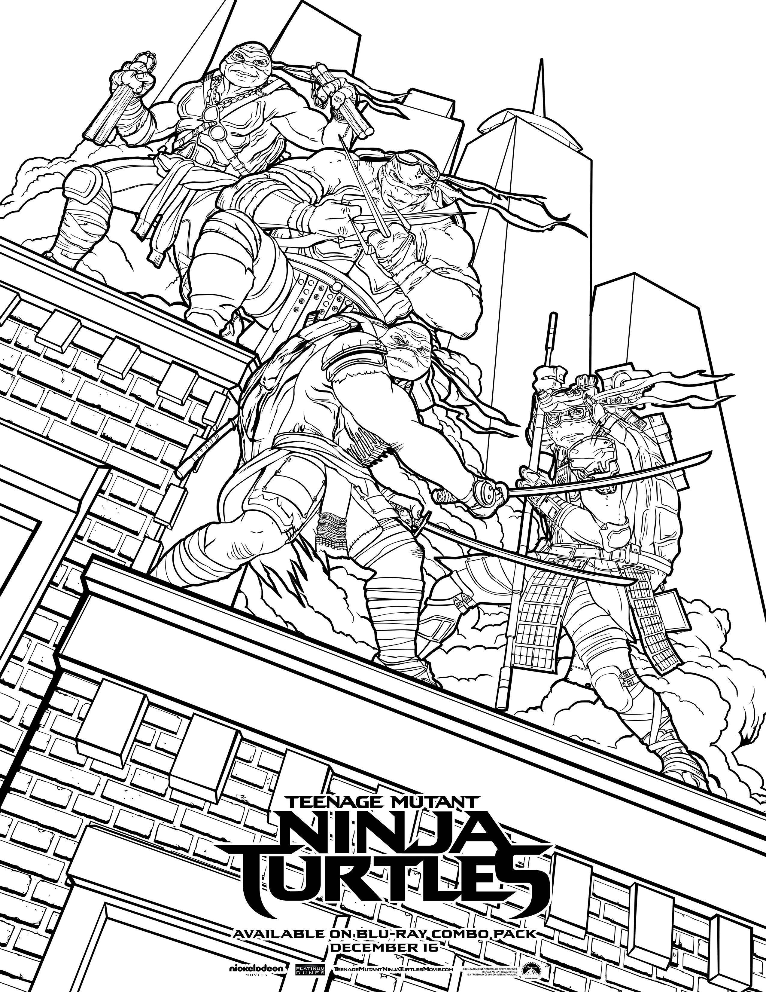teenage mutant ninja turtles color sheets krafty kidz center teenage mutant ninja turtles coloring turtles sheets mutant ninja teenage color