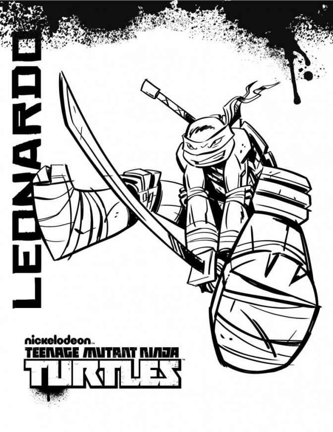 teenage mutant ninja turtles michelangelo coloring pages leo ninja turtle coloring page coloring home michelangelo ninja turtles teenage mutant coloring pages