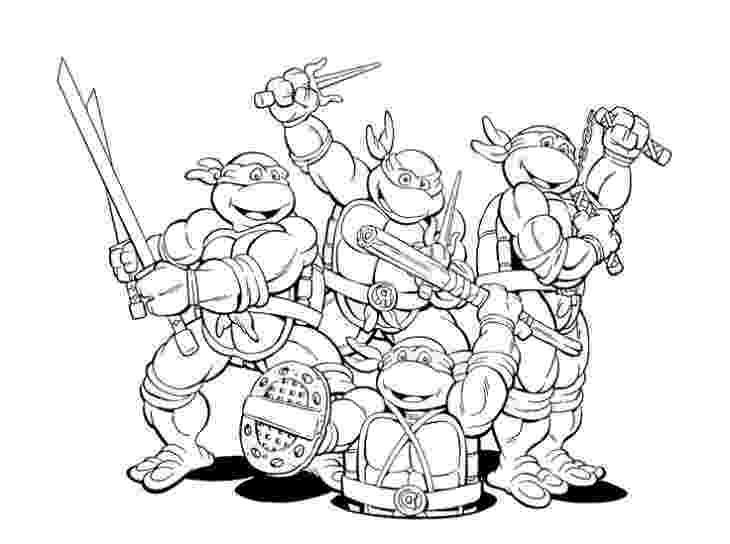 teenage mutant ninja turtles to color colouring the teenage mutant ninja turtles 1987 picture teenage ninja color to turtles mutant