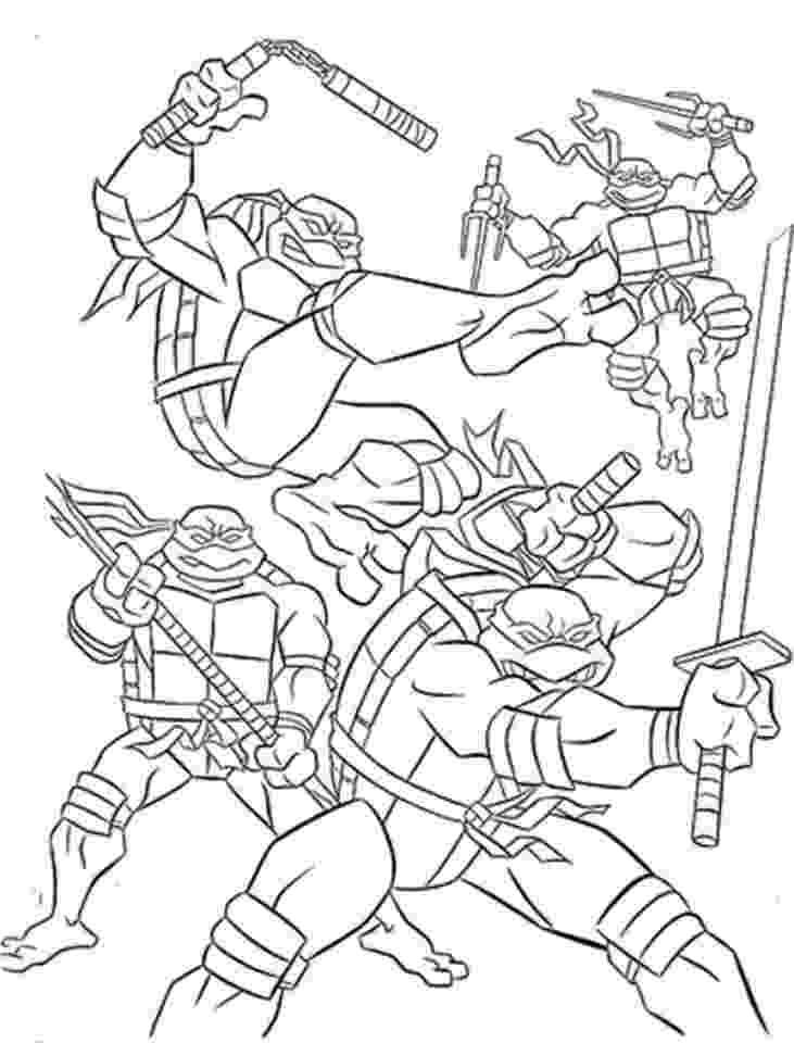teenage mutant ninja turtles to color free teenage mutant ninja turtles coloring page ninja to turtles color teenage ninja mutant