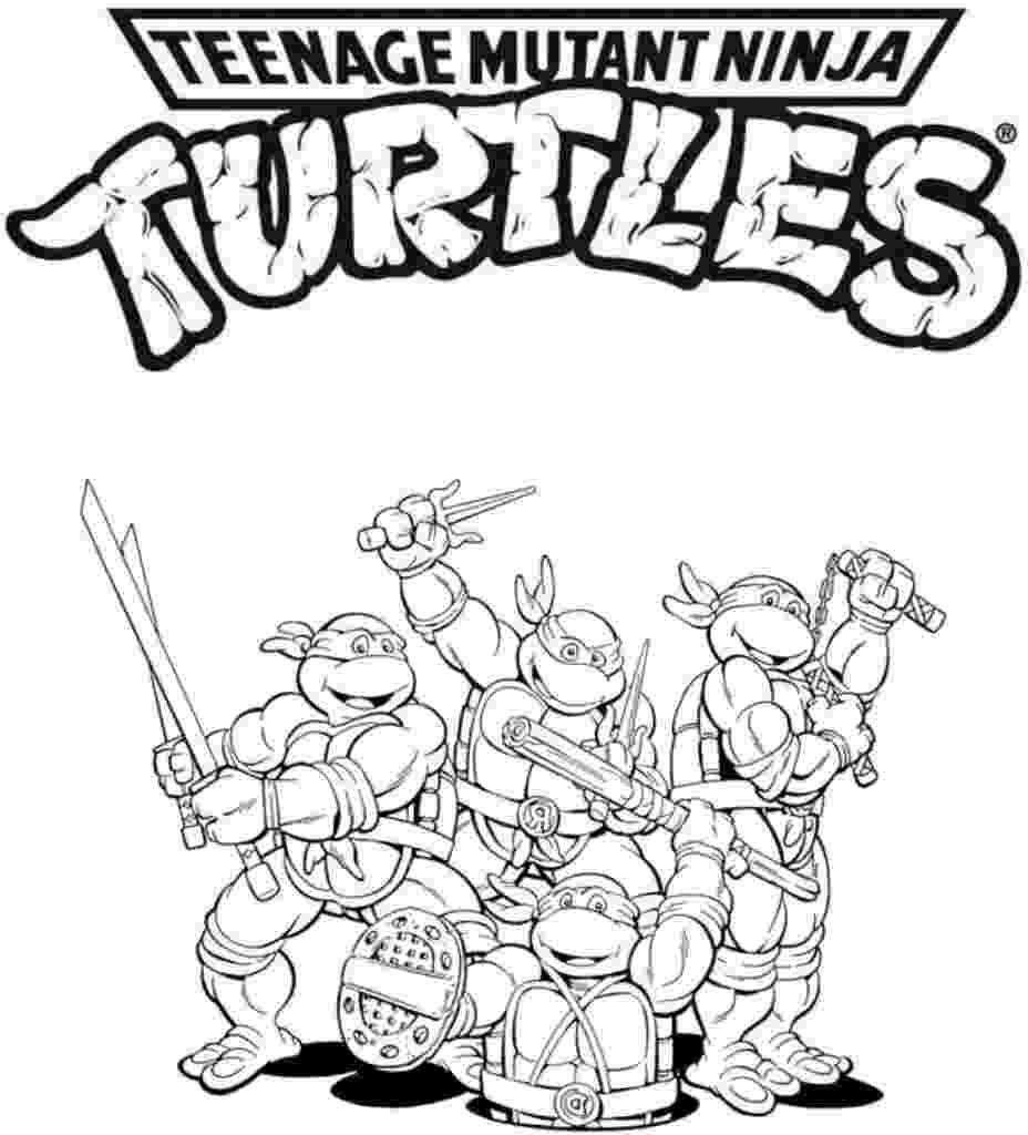 teenage mutant ninja turtles to color fun coloring pages teenage mutant ninja turtles coloring mutant turtles to color ninja teenage
