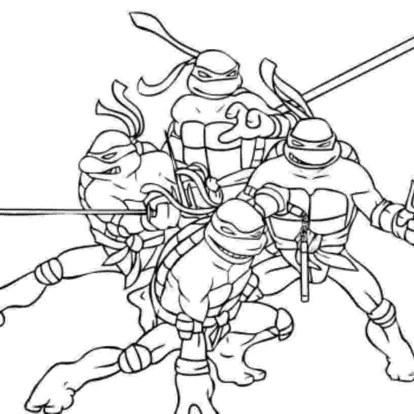 teenage mutant ninja turtles to color ninja turtles coloring pages kidsuki teenage ninja turtles to mutant color